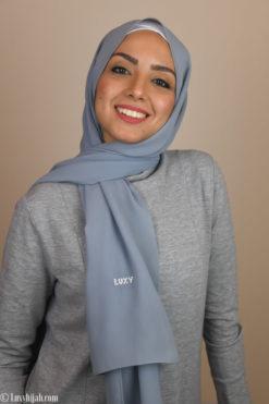 hijab scarve in gray