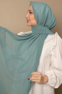 hijab in ocean