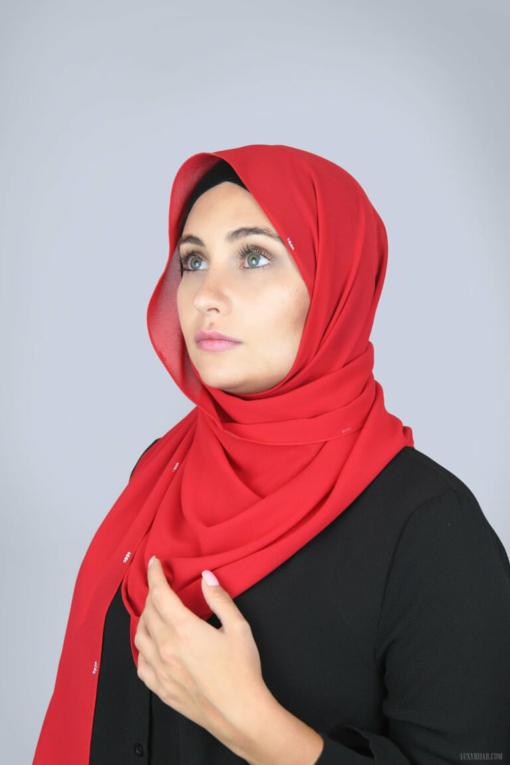 حجاب شيفون فاخر