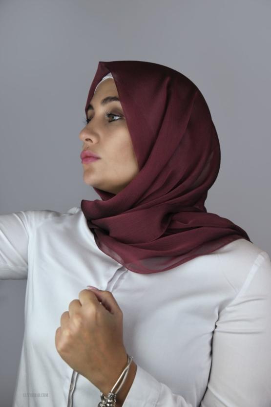 maron hijab
