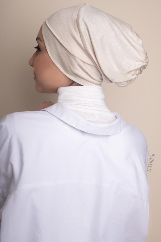 under hijab