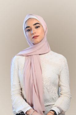 حجاب بينك زهري