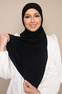 fashion hijab black