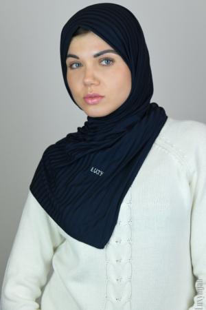 blue jersey hijab