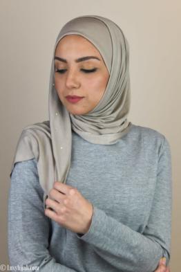 luxury jersey scarf