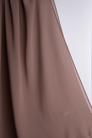 brown hijab