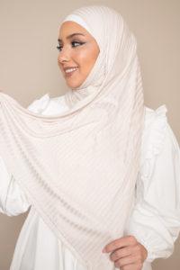 beige modal scarf