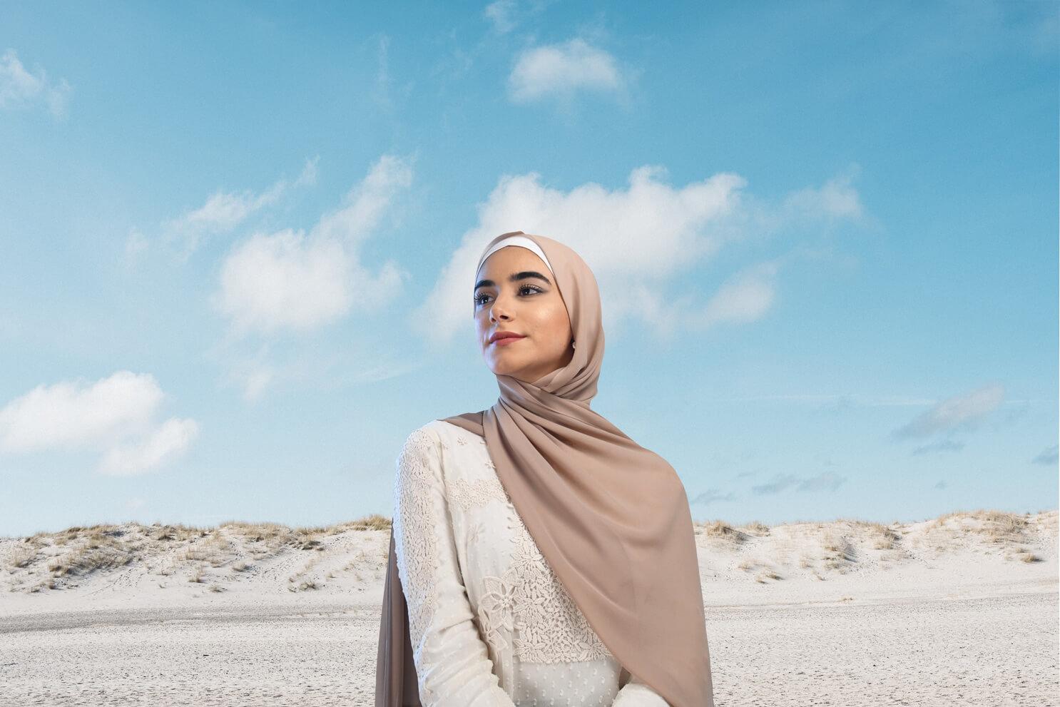 hijab material