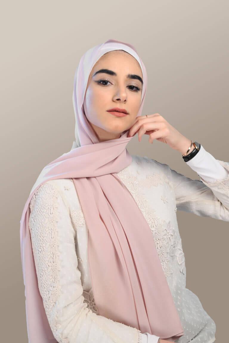 حجاب وردي
