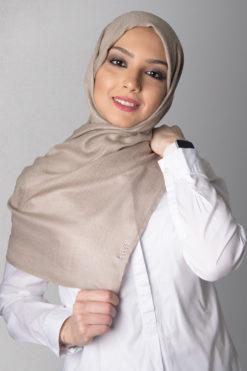 beige hijab