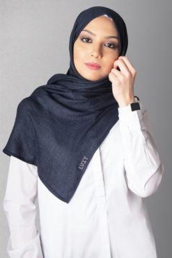 hijab navy blue