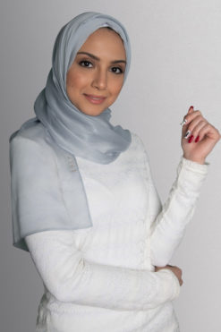 حجاب رمادي