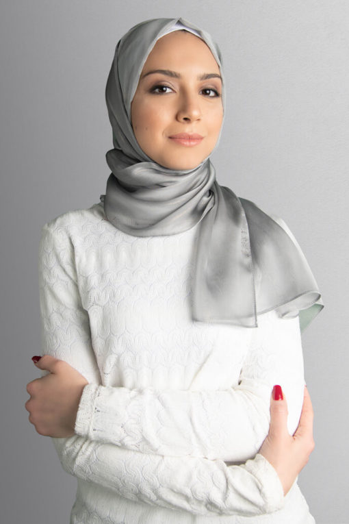 gray hijab