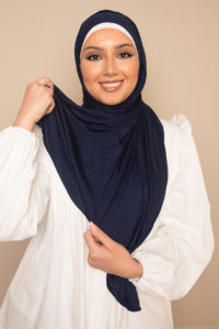 navy scarf