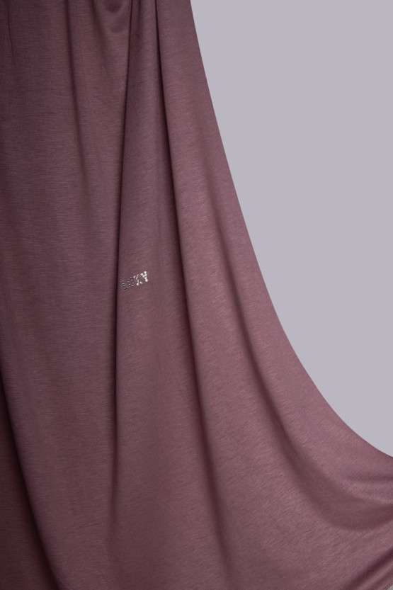 hijab in french rose