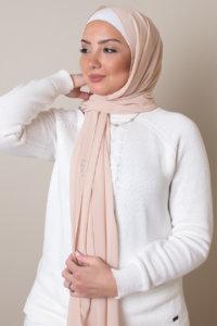 chiffon hijab in sand