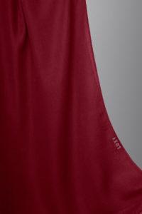 hijab in burgundy