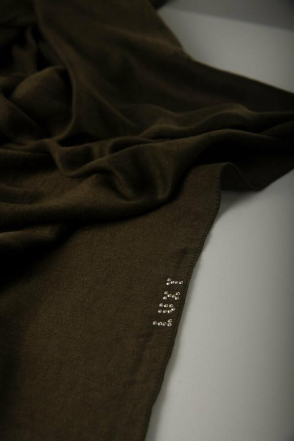 Premium Cotton Hijab in Army