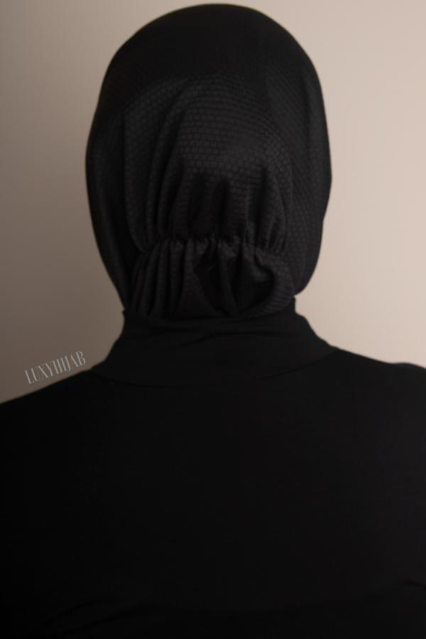 ACTIVE SPORT HIJAB IN BLACK - LIMITED EDITION