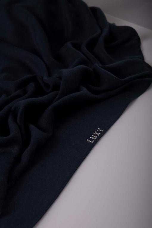 blue denim viscose scarf 6