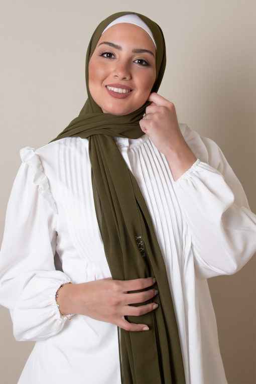 chiffon hijab in army