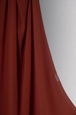 حجاب شيفون باللون الاسكواش