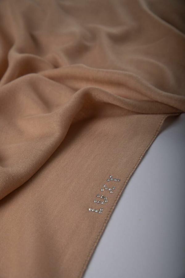 Premium Cotton Hijab in Beige
