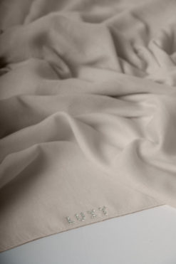 cotton hijab in cream