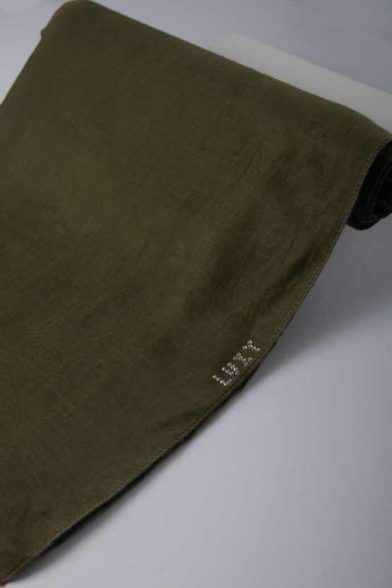 grass color hijab