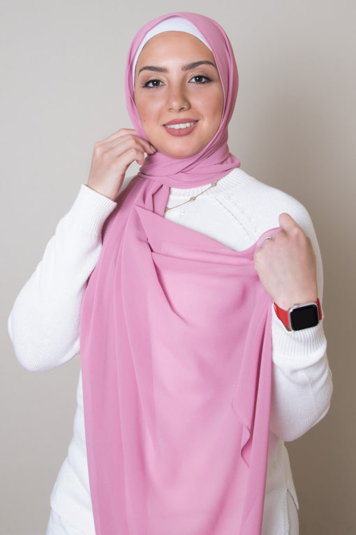 hijab in rose