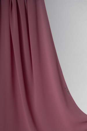 hijab in rose color