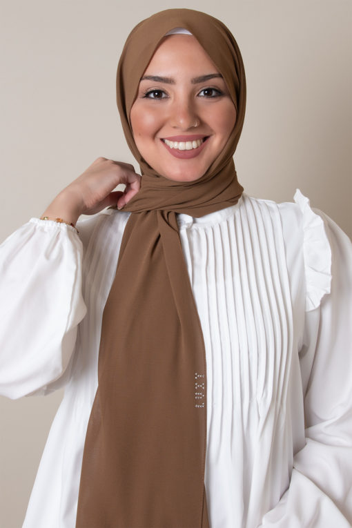 luxy hijab mocha color 3