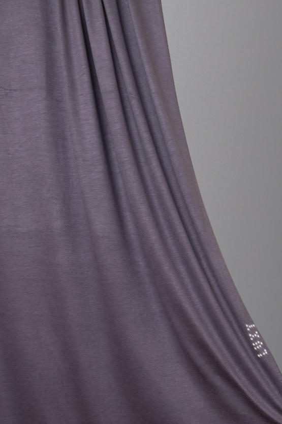 jersey hijab in graphite