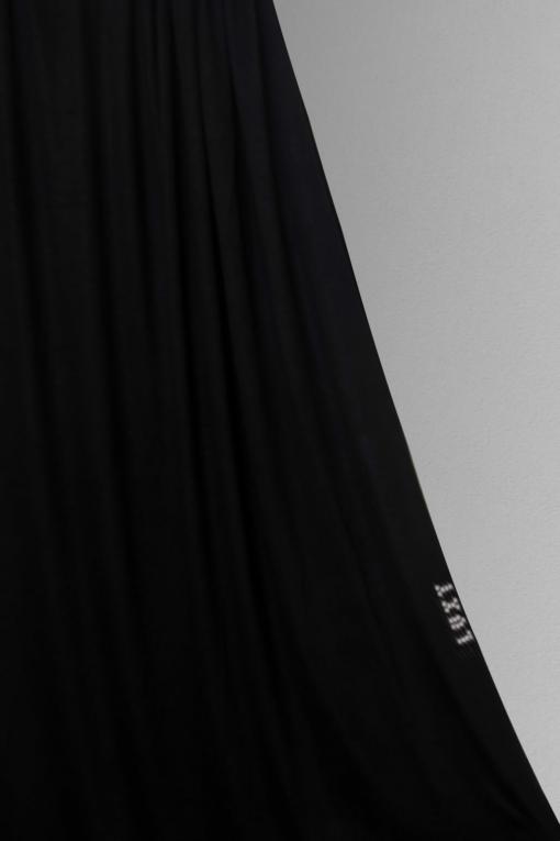 black hijab scarf