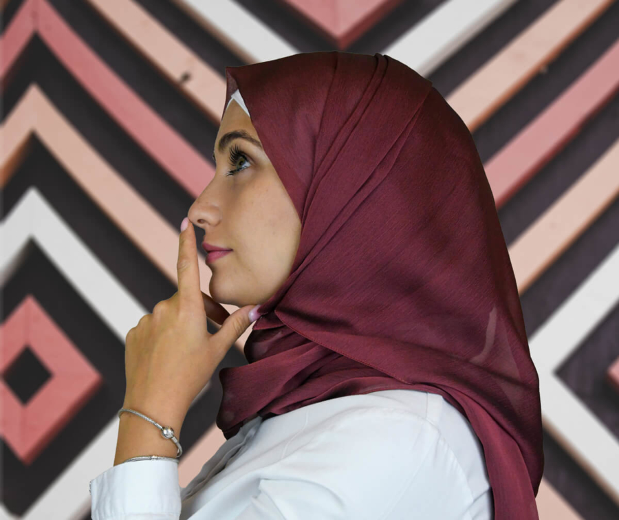 classic hijab style