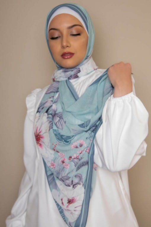 scarf georgette