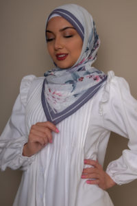 scarf light gray