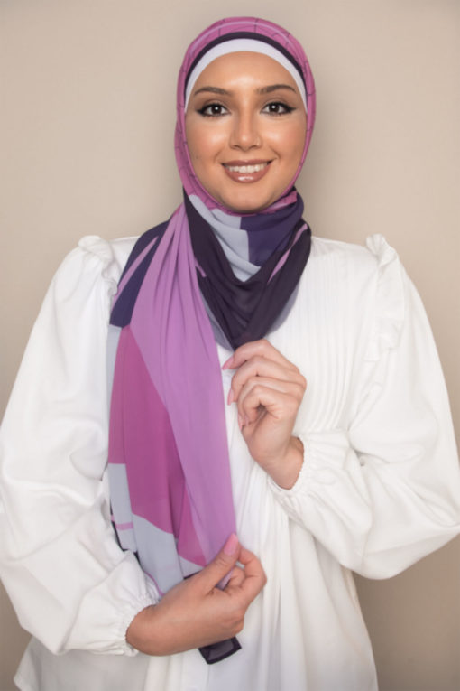 geometric dreams scarf