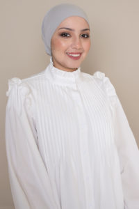 hijab cap grey