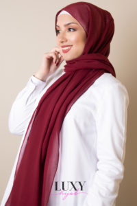 cotton voile hijab in jam