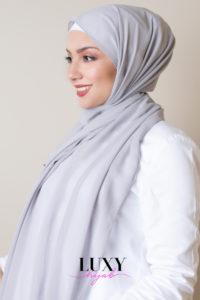 gray scarf luxy