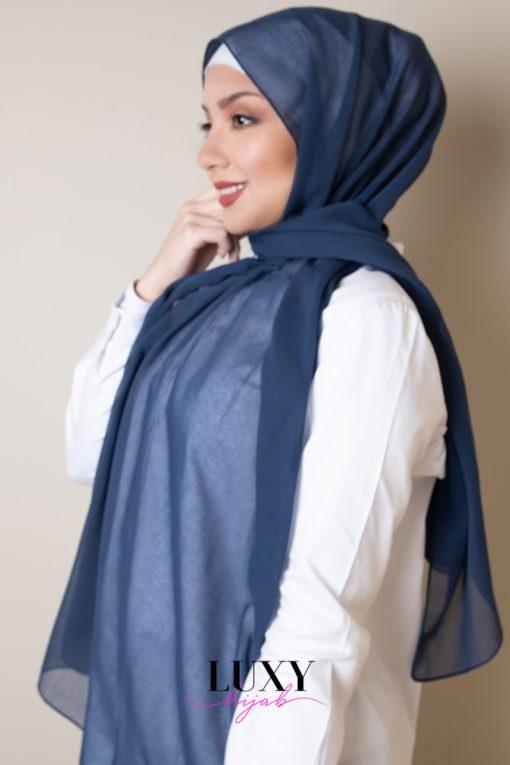 حجاب ازرق