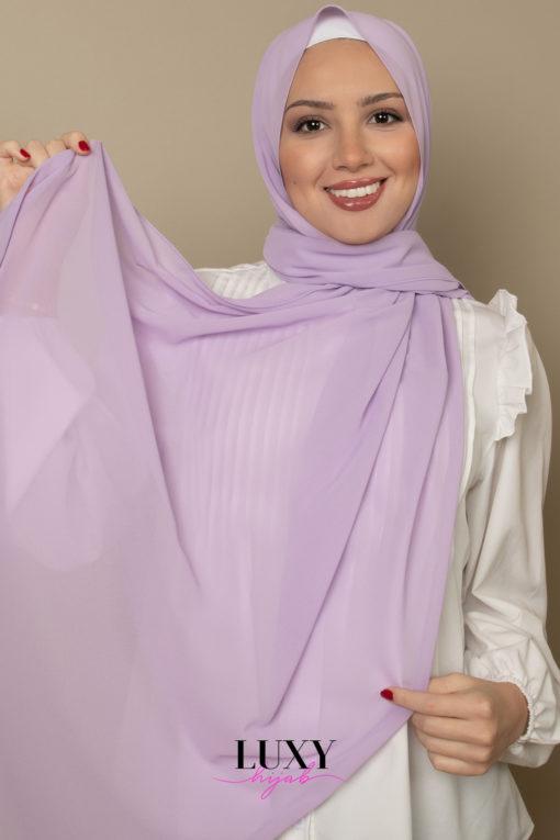 mauve scarf