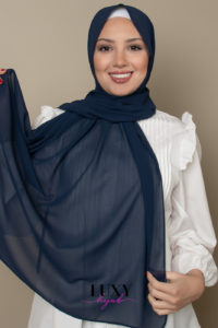 chiffon scarf space color