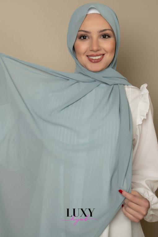 hijab in teal