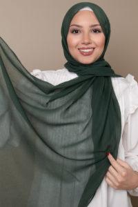 hijab green color