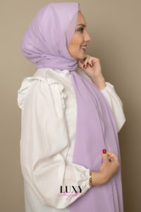 hijab in mauve